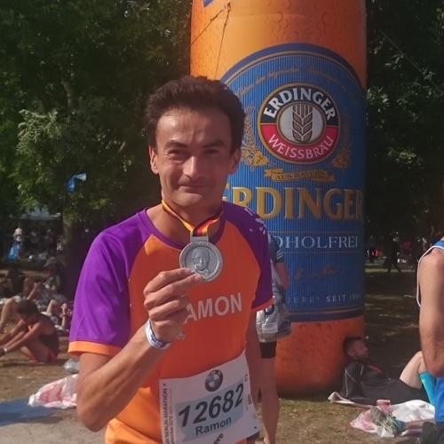Berlijn Marathon KiKa Ramon de la Fuente