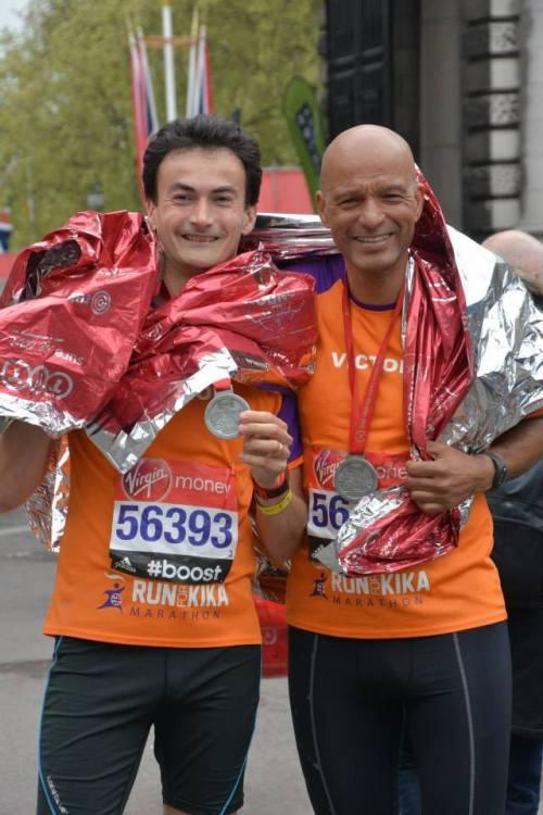 Ramon de la Fuente KiKa London Marathon