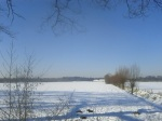 Rennen in de winter