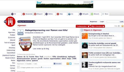 Nu.nl - persbericht Tomra systems