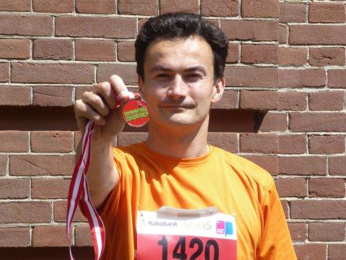 Medaille van de halve marathon van Amersfoort - Ramon de la Fuente