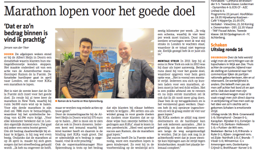 Inzameling Kika Albert Heijn Doorn