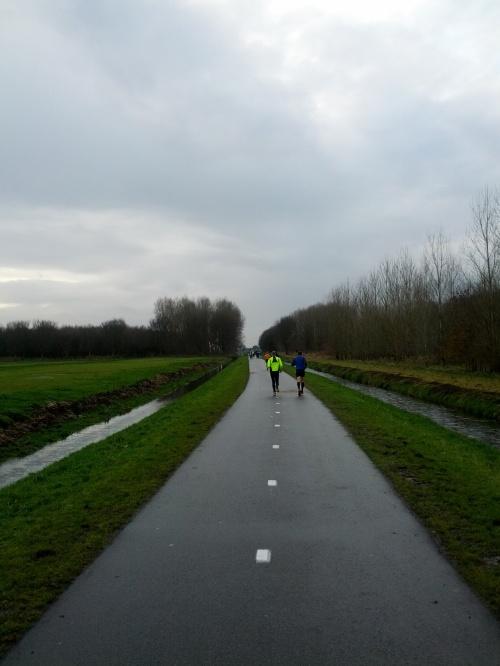 Marathon Spijkenisse 2012 - landschap