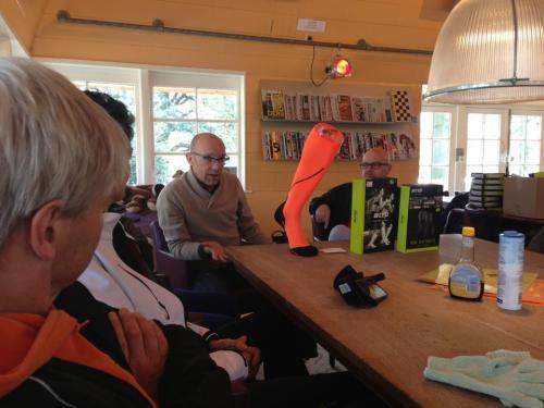 Erik Zoomers van Sportcompressiekousen.nl