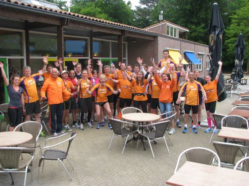 Run For KiKa New York groep in Doorn