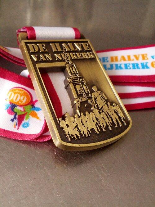 Medaille Halve Marathon van Nijkerk