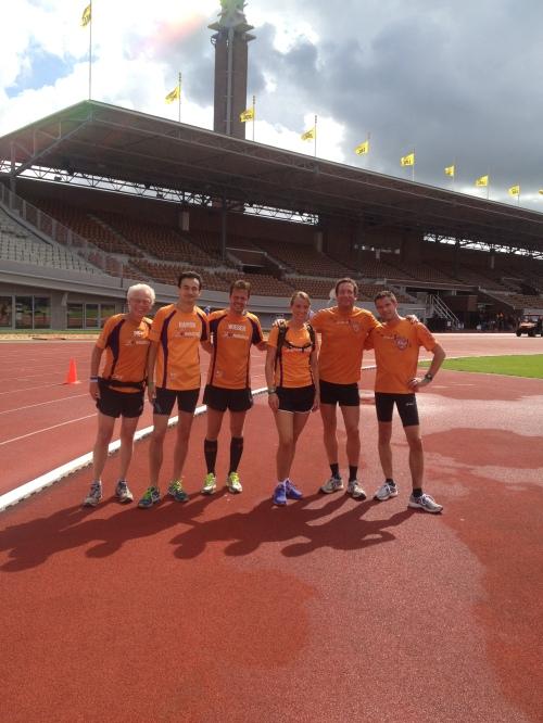 Olympisch Stadion 25km duurloop - Phanos