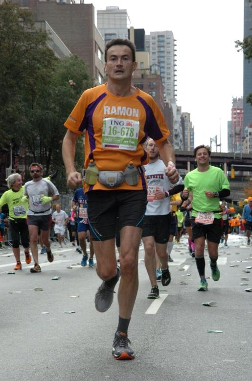 Ramon de la Fuente - New York Marathon