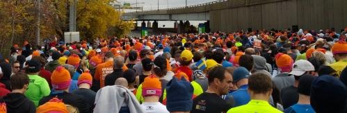 Start Wave 1 - New York Marathon 2013