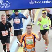 Ramon de la Fuente - Finish New York Marathon Central Park