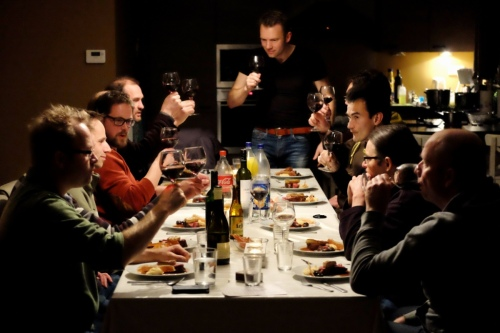 Diner huisje Ardennen