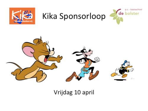 De Bolster Amersfoort - kika Sponsorloop