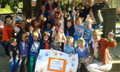 KiKa Sponsorloop Eindbedrag Basisschool De Bolster