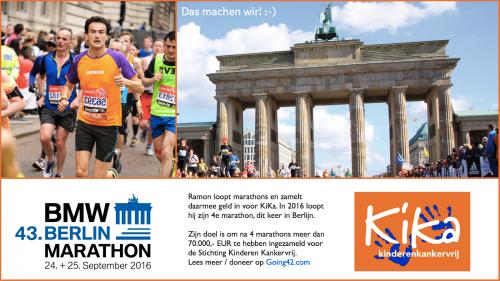 Ramon de la Fuente - Marathon Kika Berlijn 2016
