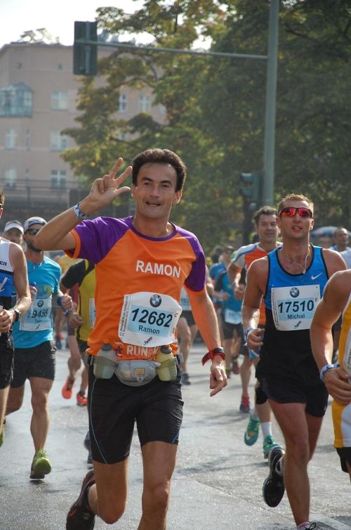 Berlijn Marathon voor KiKa - Ramon de la Fuente