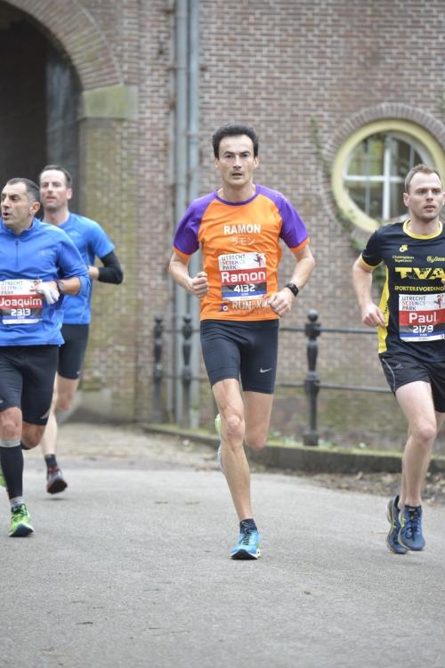 Utrecht halve marathon Ramon de la Fuente