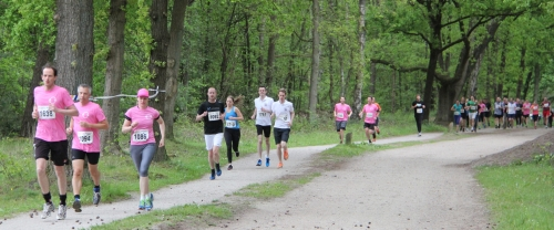 KiKa Run Leusderend in Den Treek met veel runners
