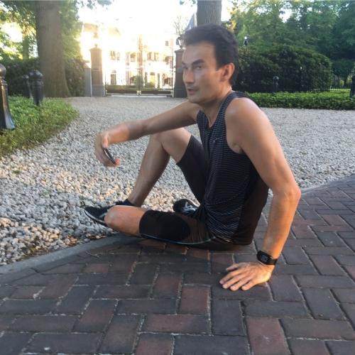 Hardlopen na een voetblessure is zwaar.