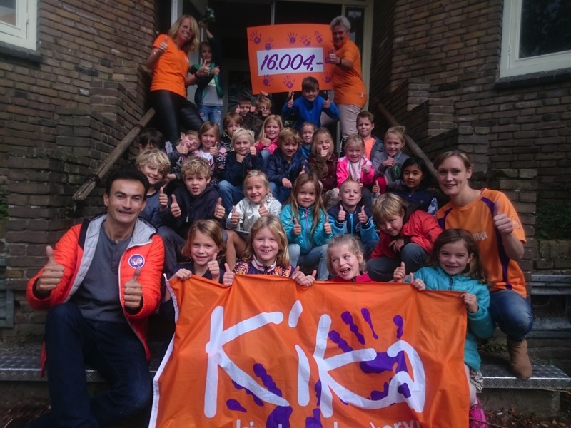 Totaal ingezamelde bedrag KiKa Kanjer Loop - De Bolster Amersfoort