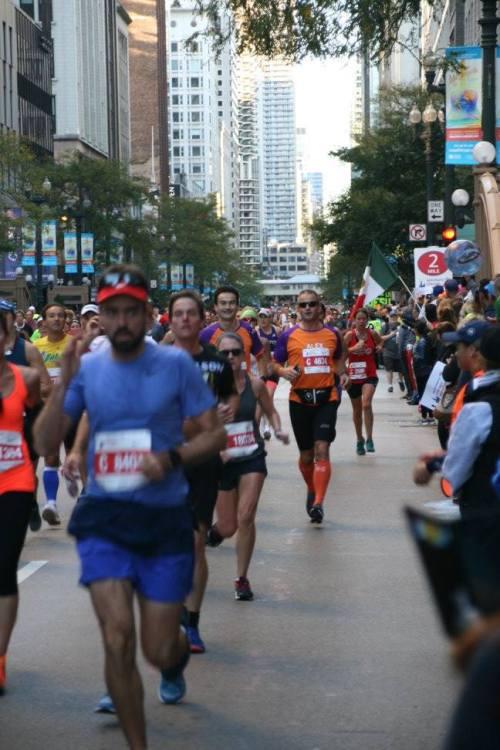 Chicago Marathon voor KiKa: Ramon de la Fuente en Alex Engel