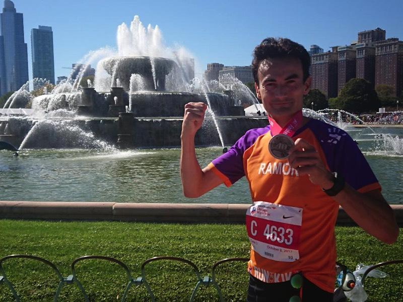 Chicago Marathon voor KiKa