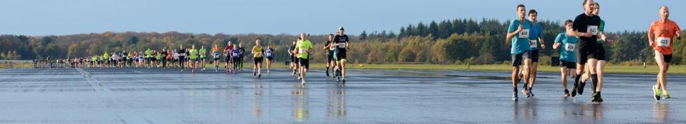 StartbaanRun hardloopwedstrijd Soesterberg 10km