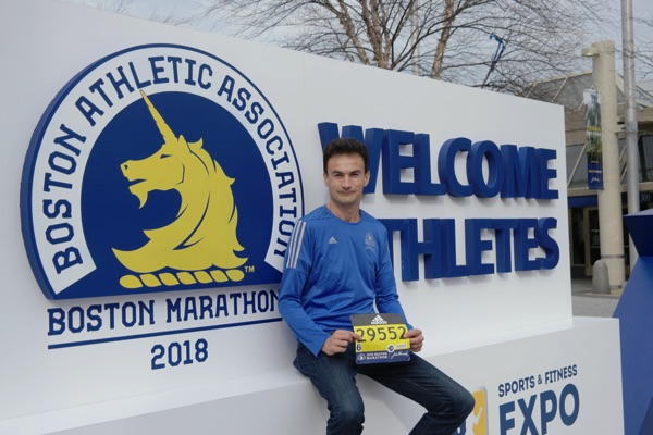 Boston Marathon at EXPO