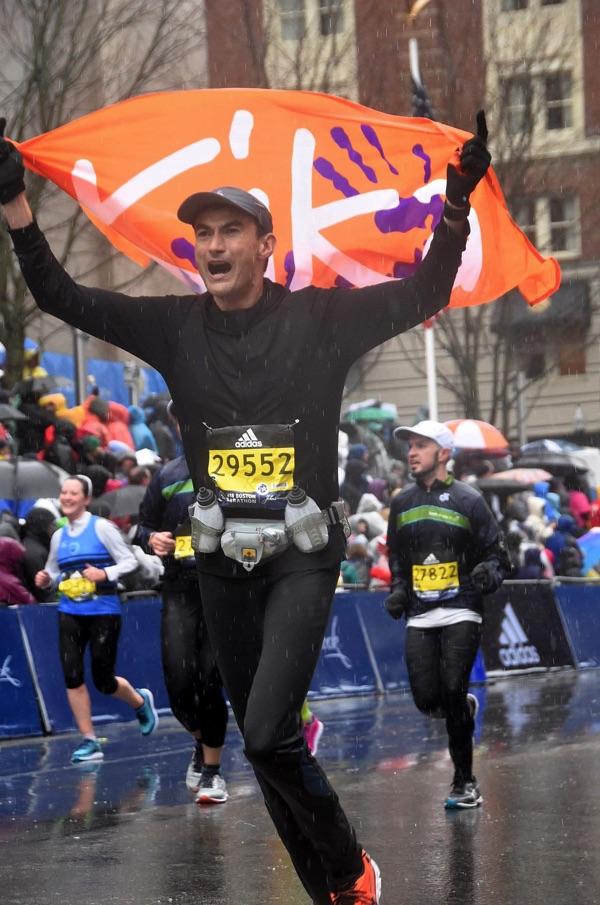 Boston Marathon voor KiKa - Ramon de la Fuente