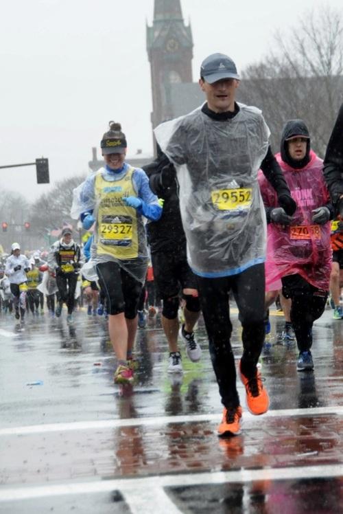 Ramon de la Fuente loopt voor KiKa de Boston Marathon 2018.