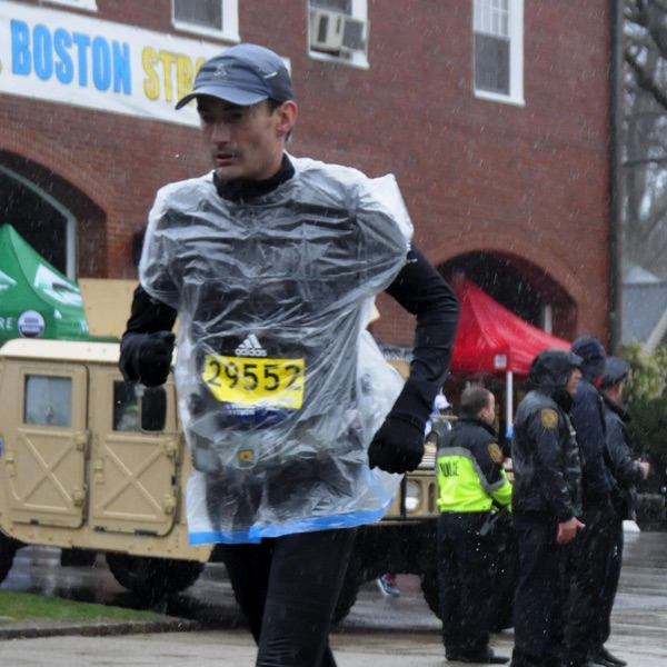 Ramon de la Fuente - Boston Marathon 2018 voor KiKa