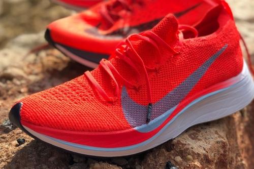 nike zoom vaporfly 4% flyknit marathon schoenen