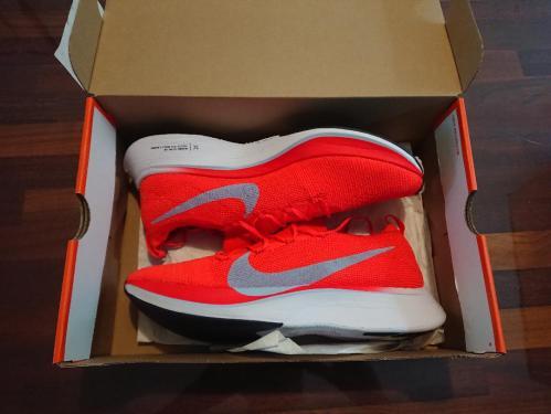 Unboxing Nike Vaporfly 4% Flyknit Marathon schoenen