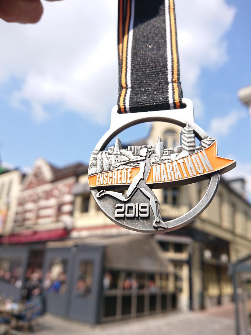 Enschede marathon medaille