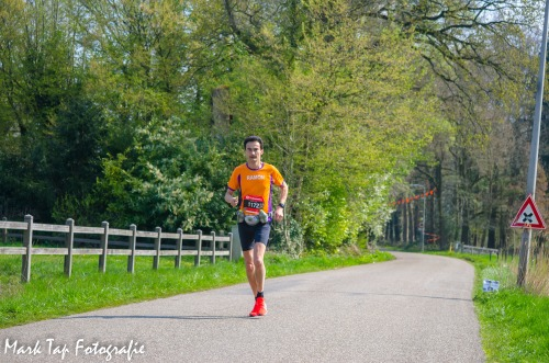Enschede Marathon - Ramon de la Fuente - dit keer alleen op de foto :-)