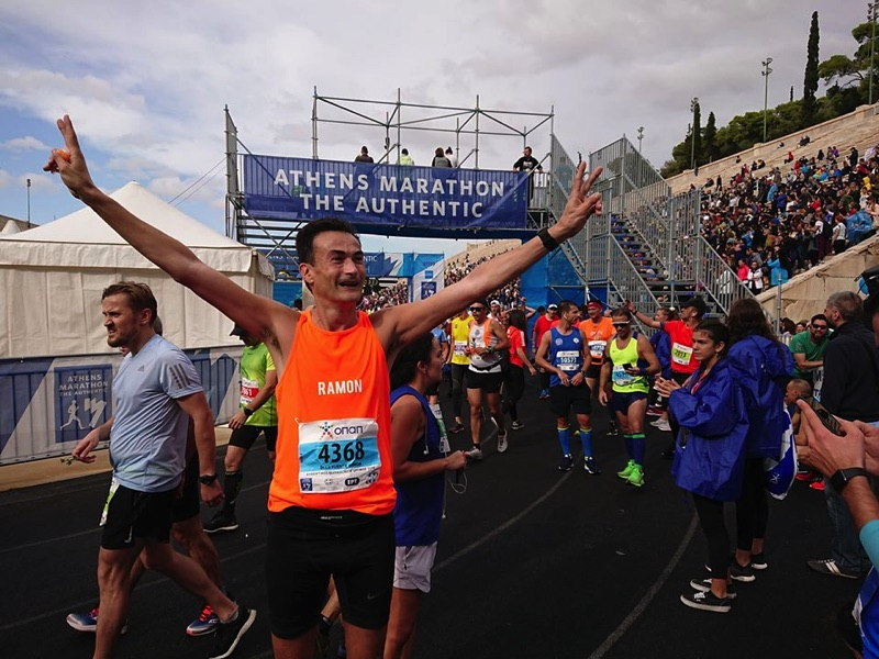 Marathon Athene Finish - Ramon de la Fuente - The Authentic.
