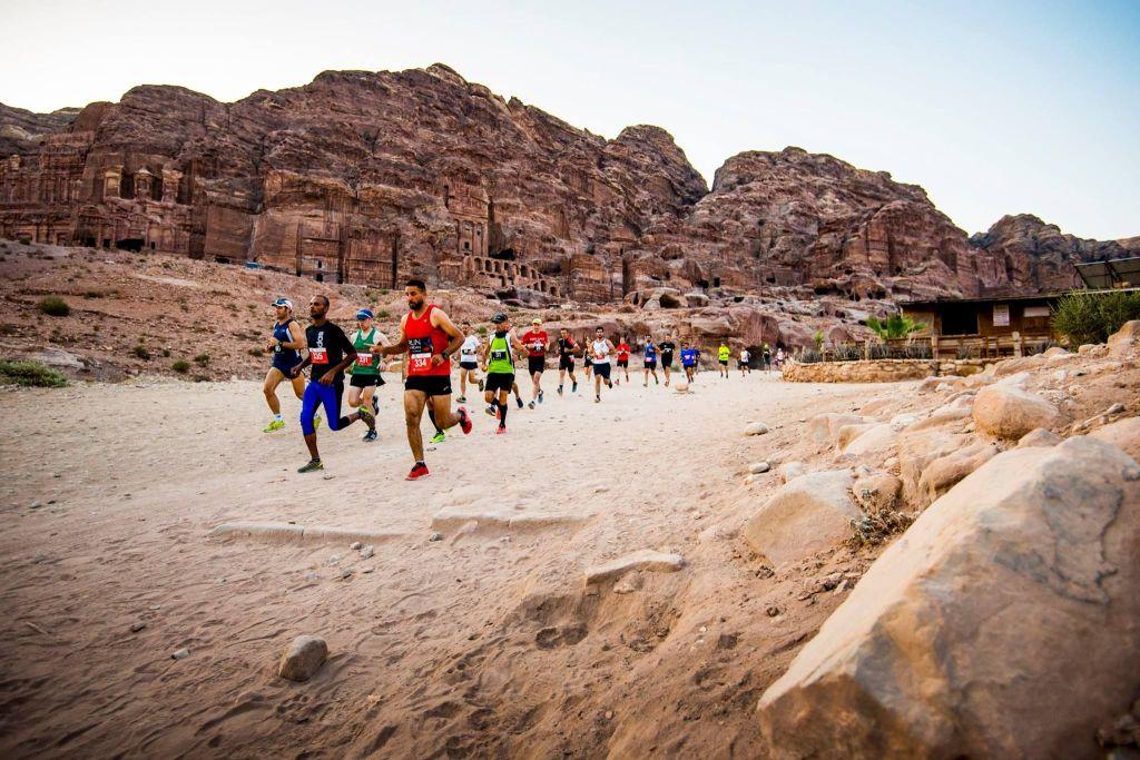 Petra Desert Marathon in Jordanië